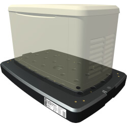 Qwikpad for Briggs and Stratton Generator 17/20 kW Steel Enclosure Product Image