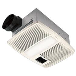 "QTX110HL Heater Combo Vent Fan w/ Light<br>6"" Round Duct, 110 CFM Product Image"