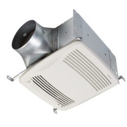 QTDC Series Bathroom Exhaust Fan w/ LED (Selectable 150, 130, or 110 CFM) Product Image
