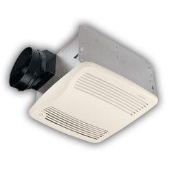 "QTXE110S Ultra Silent Humidity Sensing Ventilation Fan, 6"" Ducting (110 CFM) Product Image"