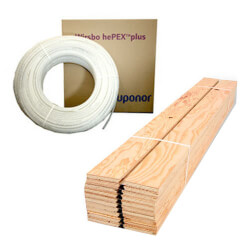 Quik Trak Radiant Heat Package - 250 sq ft Product Image
