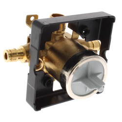 MultiChoice Valve Body w/ Expansion PEX Inlet & Universal Outlets, Screwdriver Stop Product Image