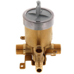 """MultiChoice Valve w/ PEX Inlet & 1/2"""" Universal Male Outlets, Screwdriver Stops Product Image"""