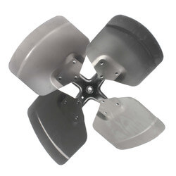 "20"" Aluminum 4 Blade Fixed Hub Fan Blade, CW (33° Pitch) Product Image"