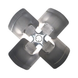 "24"" Aluminum 4 Blade Fixed Hub Fan Blade, CCW (27° Pitch) Product Image"