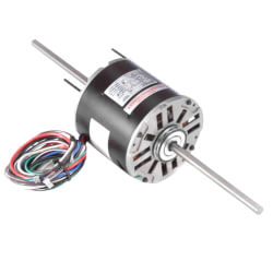 """5-5/8"""" Double Shaft Fan/Blower Motor (208-230V, 1075 RPM, 1/2 HP) Product Image"""