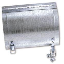 "7"" x 5"" Galvanized Round Duct Access Door Product Image"