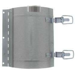 "9"" x 8"" Galvanized Round Duct Access Door Product Image"
