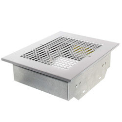 RDJ1 Radiation Damper with Metal Grille Product Image
