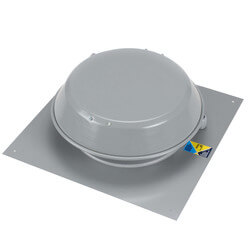 "Roof Mount 8"" Centrifugal Duct Fan (409 CFM) Product Image"