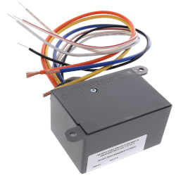 Enclosed Dry Contact Input Relay - 20 Amp SPDT, Class 2 (120 VAC) Product Image