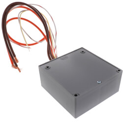 Enclosed Relay 30 Amp DPST and Coil Side Override w/ 120 VAC Coil Product Image