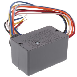 Enclosed Pilot Relay, 10 Amp, SPDT, 1/2 HP, 120-277 Vac Power Input Product Image