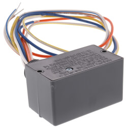 Enclosed Pilot Relay, 10 Amp, SPDT, 1 HP, 24 Vac/DC/120-277 Vac Coil Product Image