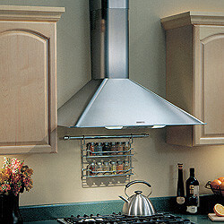 """36"""" Stainless Steel Wall Mount Chimney Hood w/ Internal Blower (270 CFM) Product Image"""