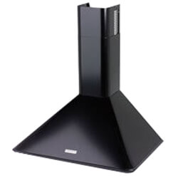 "36"" Black Wall Mount Chimney Hood w/ Internal Blower (270 CFM) Product Image"
