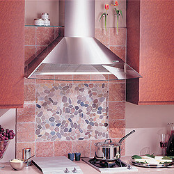 "36"" Stainless Steel Wall Mount Chimney Hood w/ Internal Blower (450 CFM) Product Image"