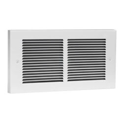 Register Plus White Wall Fan Heater, 1500/1000/500 Watt (120V) Product Image