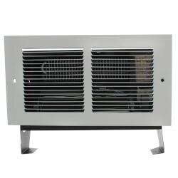 Register Plus White<br>Wall Fan Heater, 2000/1500 Watt (240/208V) Product Image