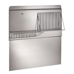 "42"" Stainless Steel Backsplash Product Image"
