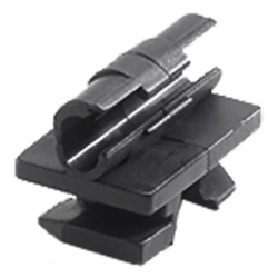 """1/4"""" Tube OD Rapid Positioning Clips (Box of 10) Product Image"""