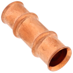 "3/4"" Refrigerant Copper Press Slip Coupling, Neoprene O-Ring Product Image"