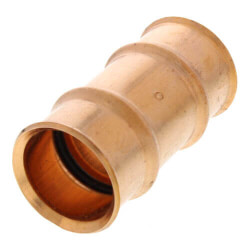 """1-1/4"""" Refrigerant Copper Press Coupling Product Image"""