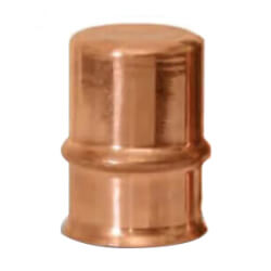 """1/4"""" Refrigerant Copper Press Cap Product Image"""