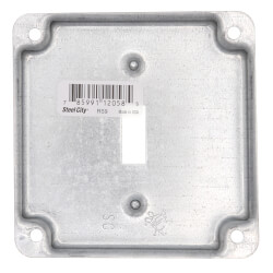 """4"""" Square Surface Cover for One Toggle Switch Product Image"""