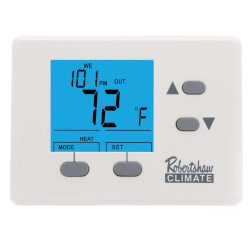 1H Programmable Thermostat w/ 72F Max Product Image