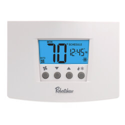 Digital 5-2 Day Prog. Thermostat Ht. Pump Single Stage (1H/1C) Product Image