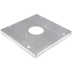 """4-11/16"""" Square Surface Cover for One Single Flush Receptacle Product Image"""