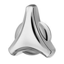 Origins Tri-Star Shower Handle (Polished Chrome) Product Image