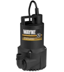 RUP160 1/6 HP Reinforced Thermoplastic Submersible Multi- Use Oil Free Pump Product Image