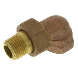 "1/2"" (FIP x Male Union)<br>Radiator Union Elbow Product Image"