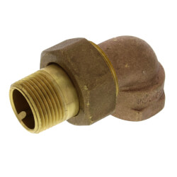 "3/4"" (FIP x Male Union) Radiator Union Elbow Product Image"