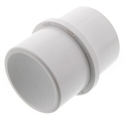 "2"" PVC Sch. 40 Inside Connector (Pipe I.D. Spigot x Pipe I.D. Spigot) Product Image"