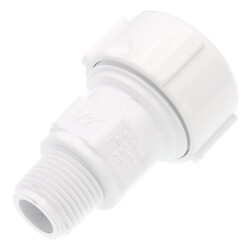 "1/2"" PVC Sch. 40 Compression Male Adapter (Buna-N Gasket) Product Image"