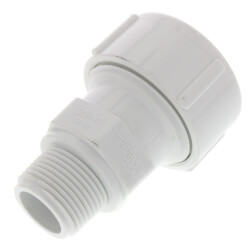 "3/4"" PVC Sch. 40 Compression Male Adapter (Buna-N Gasket) Product Image"