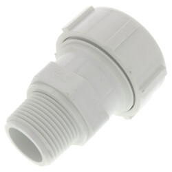 "1"" PVC Sch. 40 Compression Male Adapter (Buna-N Gasket) Product Image"