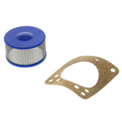 Oil Burner Pump Strainer w/ New Style Gasket for Suntec A70 Single-Stage Mini Pump (Bagged) Product Image