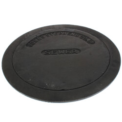 """10"""" Sewer Box Sewer Lid and Ring Product Image"""