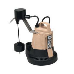 1/3 HP Auto Sump Pump w/ Vertical Float Switch 115v - 10' Cord Product Image