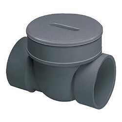 "3"" PVC Backwater Valve Body Product Image"