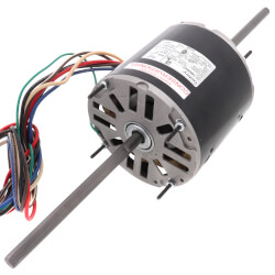 "5-5/8"" Double Shaft Fan/Blower Motor (208-230V, 1075 RPM, 1/2 HP) Product Image"