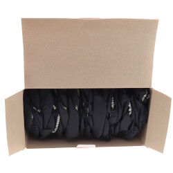 """16"""" x 6-3/4"""" Dark Blue Disposable Shoe Covers (Box of 50 Pairs) Product Image"""