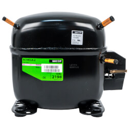 3656 BTU 1-Phase Reciprocating Compressor (3/4 HP, 115V) Product Image