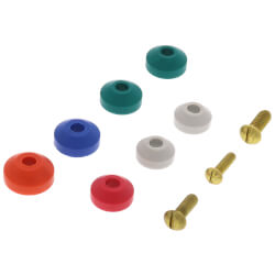 Assortment of Bibb Washers & Bibb Screws (10 per card) Product Image