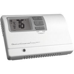 Programmable 1H/1C/1 Heat Pump SimpleComfort PRO Thermostat Product Image