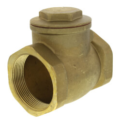 "2"" Threaded Swing Check Valve, Lead Free Product Image"
